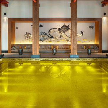 Kolam Relaksasi The St Regis Lhasa Resort