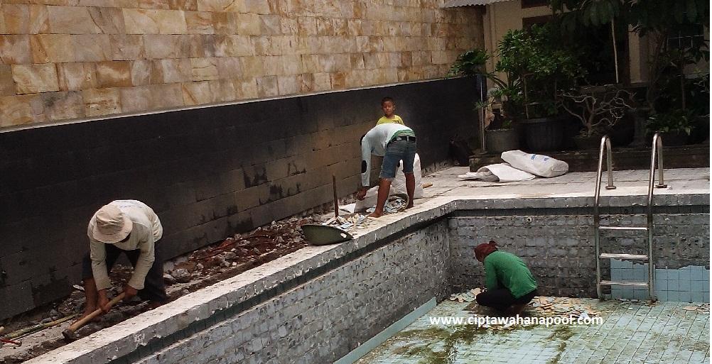 renovasi kolam renang 2