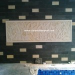 Pembuat relief kolam renang