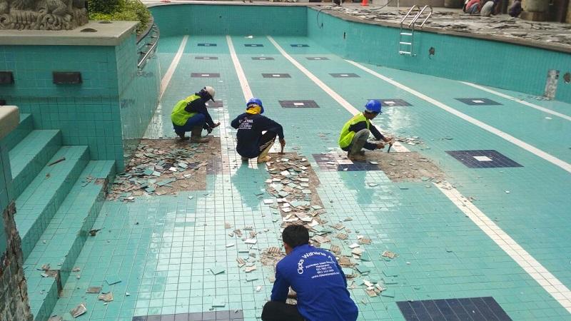 Jasa Renovasi Kolam Renang Madura