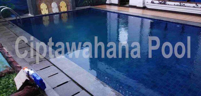 kolam renang yang dibuat oleh ciptawahana pool
