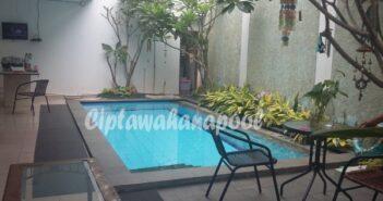salah satu kolam renang klien di yogyakarta yang dibuat oleh ciptawahana pool
