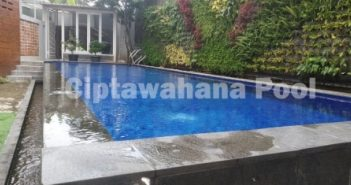 Salah satu Kolam Renang yang dibuat oleh ciptawahana pool