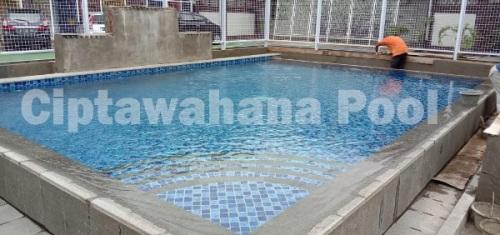Salah Satu Kolam Renang Di Ngadiluwih Kediri Yang Dibuat Oleh Team Ciptawahana Pool