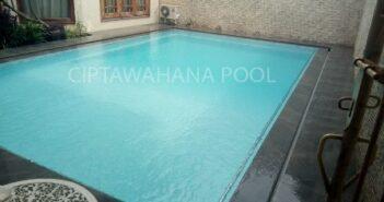 kolam renang klien di trenggalek yang dibuat oleh ciptawahana pool