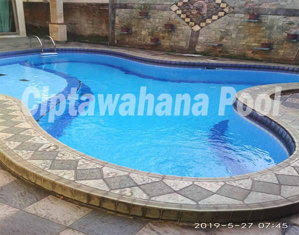 kolam renang klien kami yang dibuat oleh ciptawahana pool
