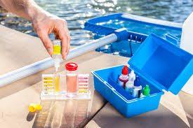 cara penggunaan teskit kolam renang